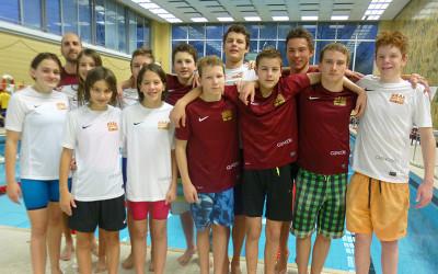 Ereignisreiches Wochenende für Baarer Schwimmer