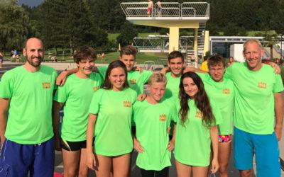 Baarer Schwimmer behaupten sich auf nationaler Ebene