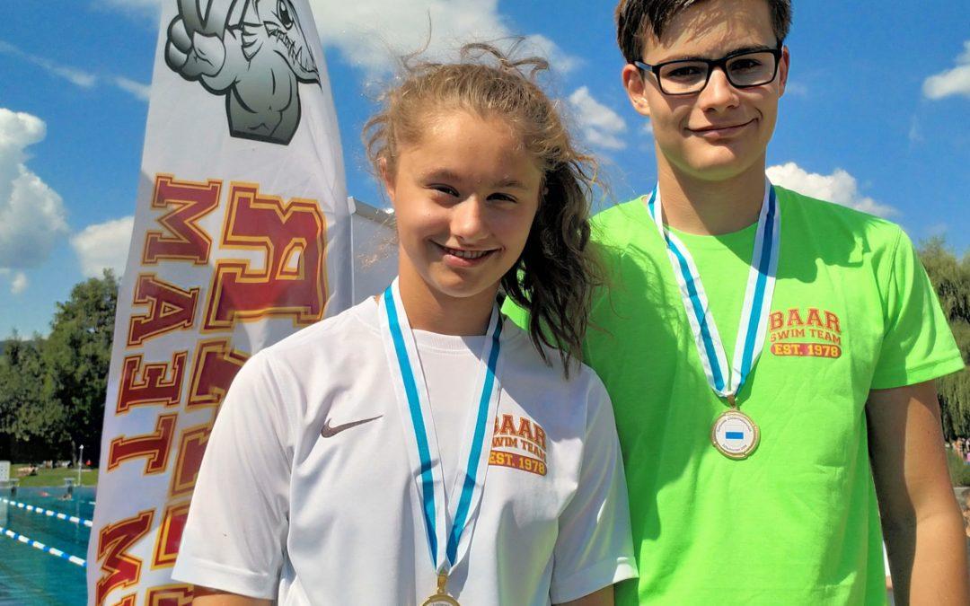 Zuger Schüler küren die schnellsten Schwimmer