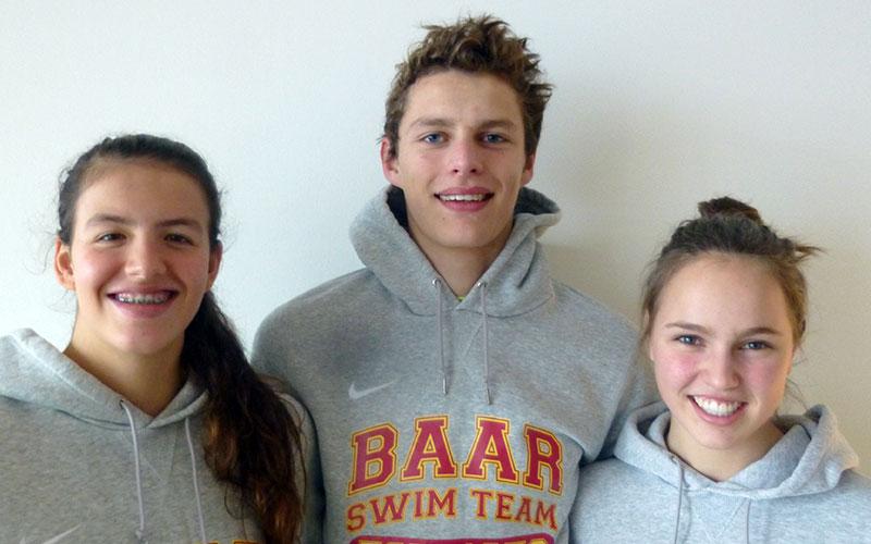 Erfolgreicher Meisterschafts-Einsatz der Baarer Schwimmer